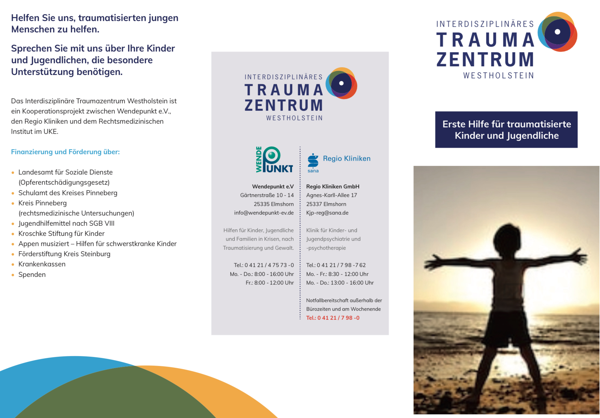 Flyer Traumazentrum